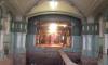 Рабочие сбили метлахскую плитку во время реставрации Императорского училища