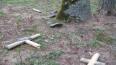 В Омской области школьники надругались над могилами