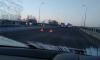 На Митрофаньевском путепроводе собрался паровозик из четырех авто