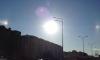 Петербуржцев удивили три солнца на дневном небе