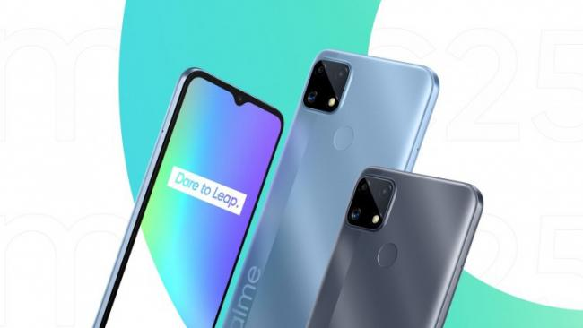 Realme представила новый смартфон C25