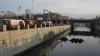 В Обводный канал рухнул бензовоз с 20 тоннами мазута