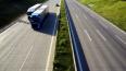 На съезде с КАД на Выборгское шоссе сузят дорогу и огран...