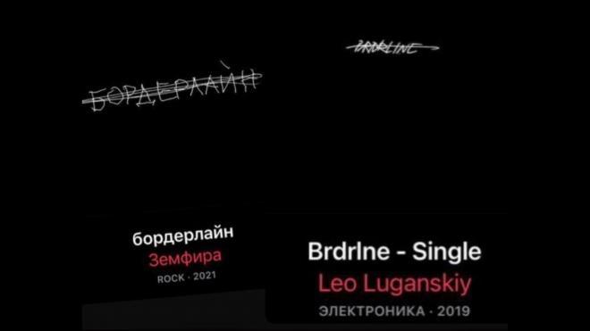 """Земфиру обвинили в плагиате обложки для нового альбома """"Бордерлайн"""""""