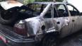 Полицейские спасли из горящего автомобиля в центре ...