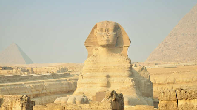 В египетском Луксоре обнаружили еще одного Сфинкса