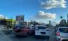 Два автомобиля столкнулись на пересечении Сизова и Королева