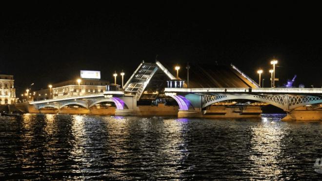 Троицкий и Благовещенский мосты разведут в ночь с 3 на 4 декабря
