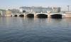 На Пироговской набережной Петербурга идут работы