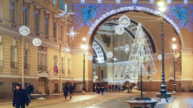 Днём во вторник в Петербурге ожидается до -7 градусов