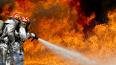 В Уманском переулке загорелось офисно-производственное ...