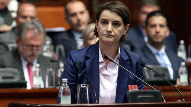 Новый премьер Сербии заявила о нежелании вводить санкции против России