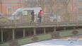 Из Дудергофского канала прохожие вытащили тонувшего ...
