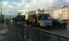 Около метро Электросила автобус с пассажирами попал в ДТП