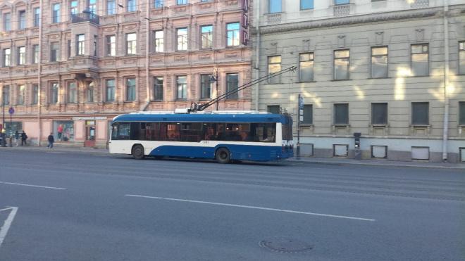 Троллейбус №21 не будет ходить в течение 7 дней