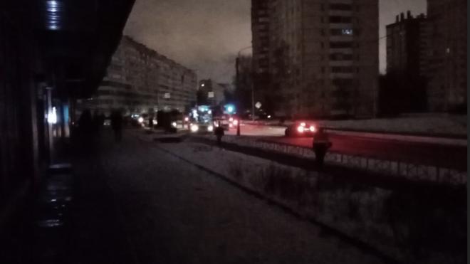 В Красносельском районе из-за аварии наступил блэкаут