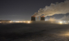 Петербург ночью окутал густой туман