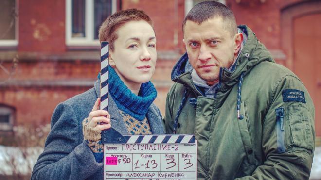 """Дарья Мороз и Павел Прилучный породнились на съемках сериала """"Преступление"""""""
