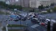 Петербуржцы не могут разъехаться на перекрестке проспектов ...