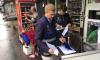 В Выборгском районе прошел рейд против уличной торговли