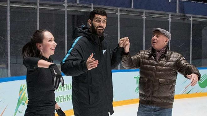 Луиш Нету вышел на лед с прославленными фигуристами, чтобы помочь больному ребенку