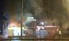На проспекте Художников утром горела торговая точка