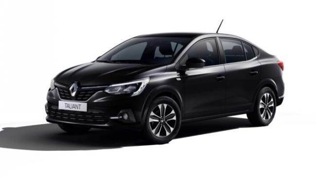 Renault представила новый седан Taliant