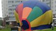 """Воздушный шар """"припарковался"""" во дворе жилого дома ..."""