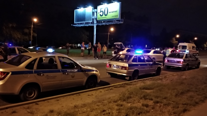 На Проспекте Культуры таксист насмерть сбил мужчину на пешеходном переходе