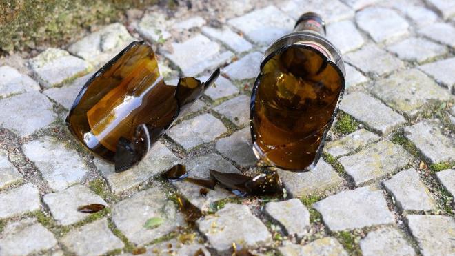 Несовершеннолетний осколком бутылки порезал петербуржца в центре города