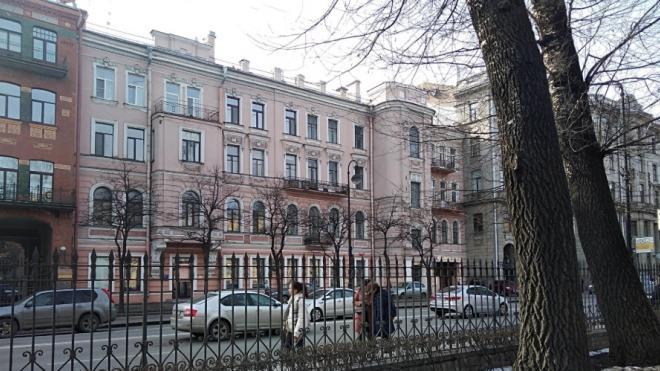 В Петербурге запустят конкурс на обследование аварийного особняка на Каменноостровском проспекте