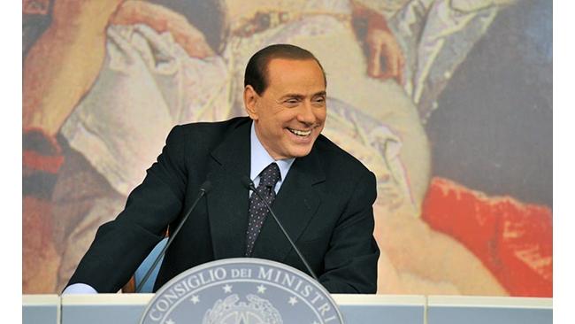 Акции устроили ралли на бирже из-за Берлускони