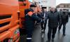 Полтавченко вручил дорожникам ключи от уличных пылесосов