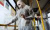 Салоны автобусов в Петербурге дополнительно продезинфицируют