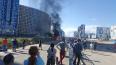 Пиротехники взорвали автомобиль на Комендантском проспек...