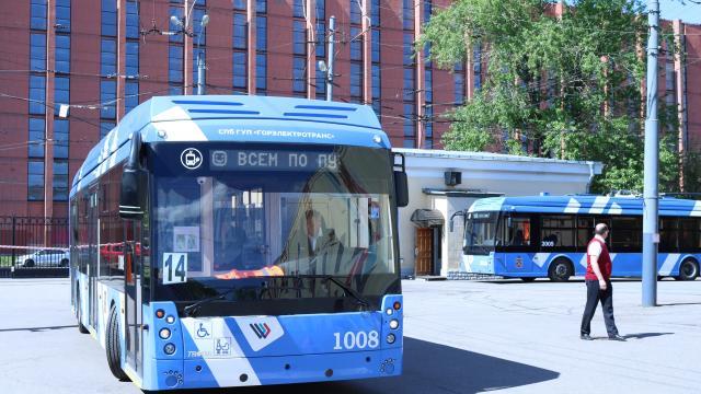 Автобусный парк на 400 электробусов будет построен в Красногвардейском районе