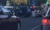 В Петербурге два мотоциклиста пострадали в ДТП