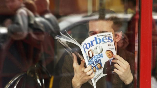 Миллиардер из Петербурга возглавил рейтинг Forbes