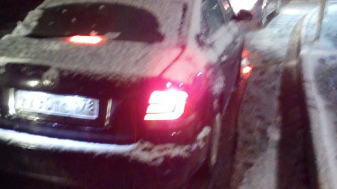 В Петербург и Ленобласть пришел первый снег