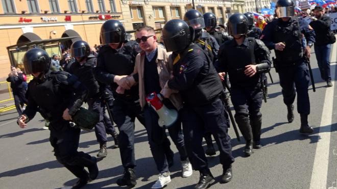 Экс-главу городского штаба Навального задержали в Петербурге
