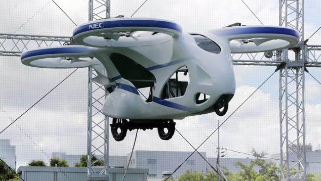Японская компания NEC представила летающий автомобиль