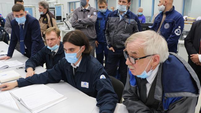 Новый блок ЛАЭС впервые выведен в режим управляемой ядерной реакции