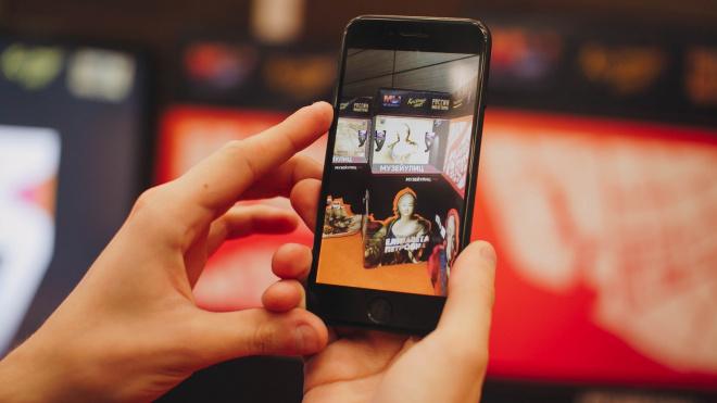 """В Петербургезаработало уникальное приложение дополненной реальности """"Музей улиц AR"""""""
