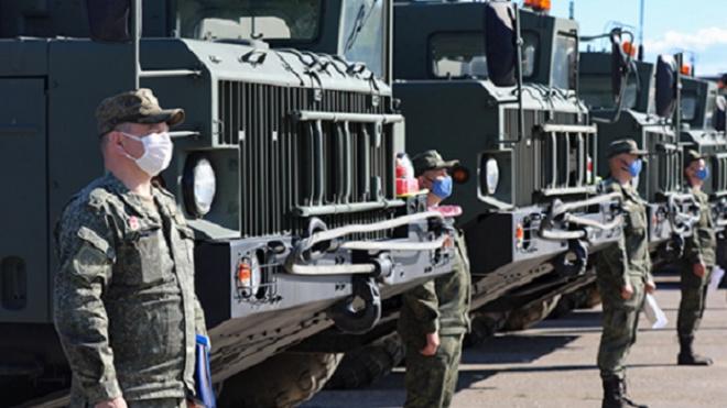 В Петербург прибыли участники парада Победы из четырех регионов