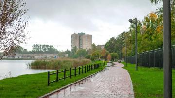 Открыто новое общественное пространство у Ивановского карьера