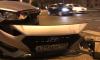 На Московском такси на пешеходном переходе снесло светофор