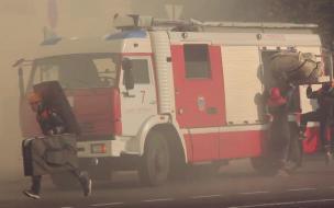 Из горящей квартиры на Гаванской улице спасли двух пожилых женщин