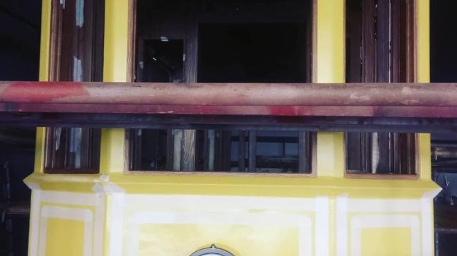 Появились первые фотографии выборгского трамвая, готового к установке