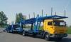 На юге Петербурга украли автовоз с шестью иномарками