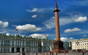 В районе Дворцовой площади ограничат движение транспорта